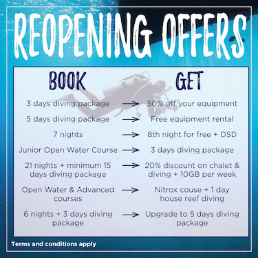 Escape the city with one of our reopening offers!