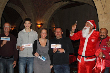 Congratulations to our x-mas Raffle Winners